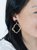 handmade designer womens large rania earrings katie bartels