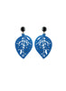 womens blue sarah earrings katie bartels