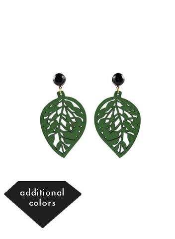 womens green sarah earrings katie bartels