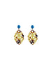womens tortoise satya earrings katie bartels