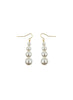 handmade designer womens swarovski pearl taylor earrings earrings