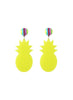 womens yellow tropicana earrings katie bartels