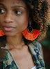 handmade designer womens orange zuha earrings katie bartels