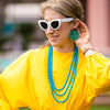 handmade designer womens turquoise stacking necklaces katie bartels