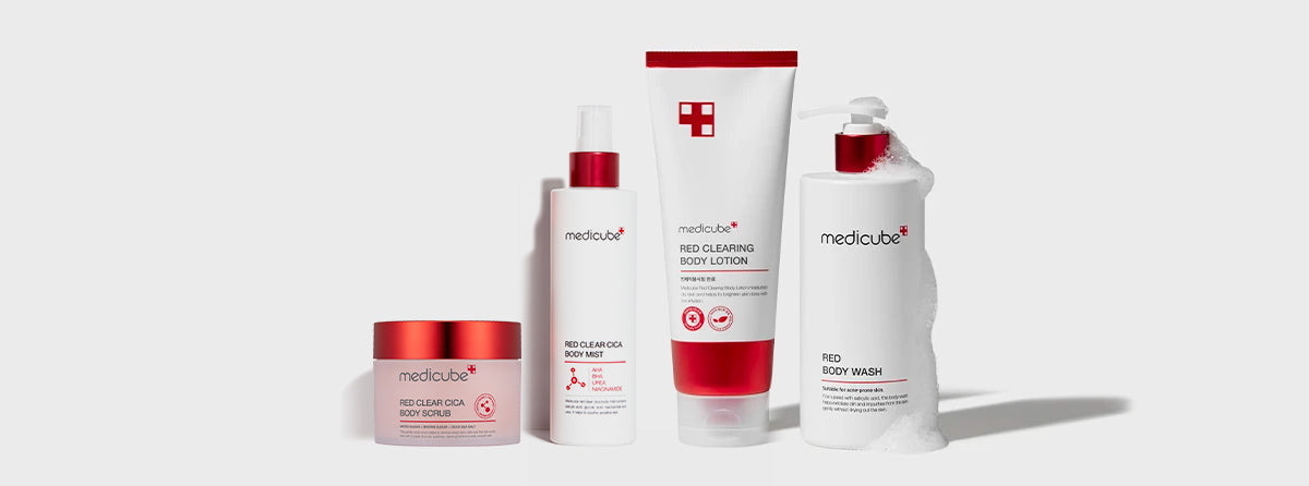 red body care set