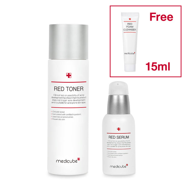[DUO] Red Toner + Serum