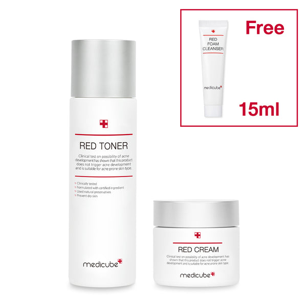 [DUO] Red Toner + Cream - MEDICUBE US
