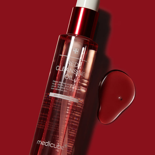 Red Cleansing Oil - MEDICUBE US
