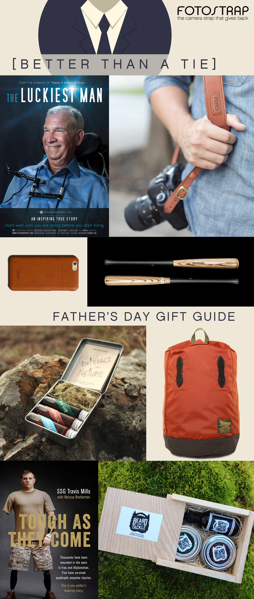 Better than a Tie Father's Day Gift Guide | FOTO Blog