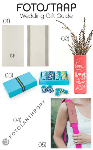 Fotostrap Wedding gift guide