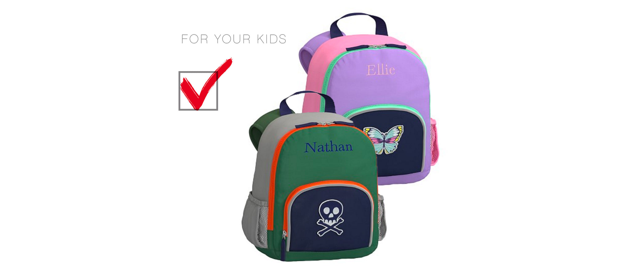 Personalized Pottery Barn Kids Backpacks