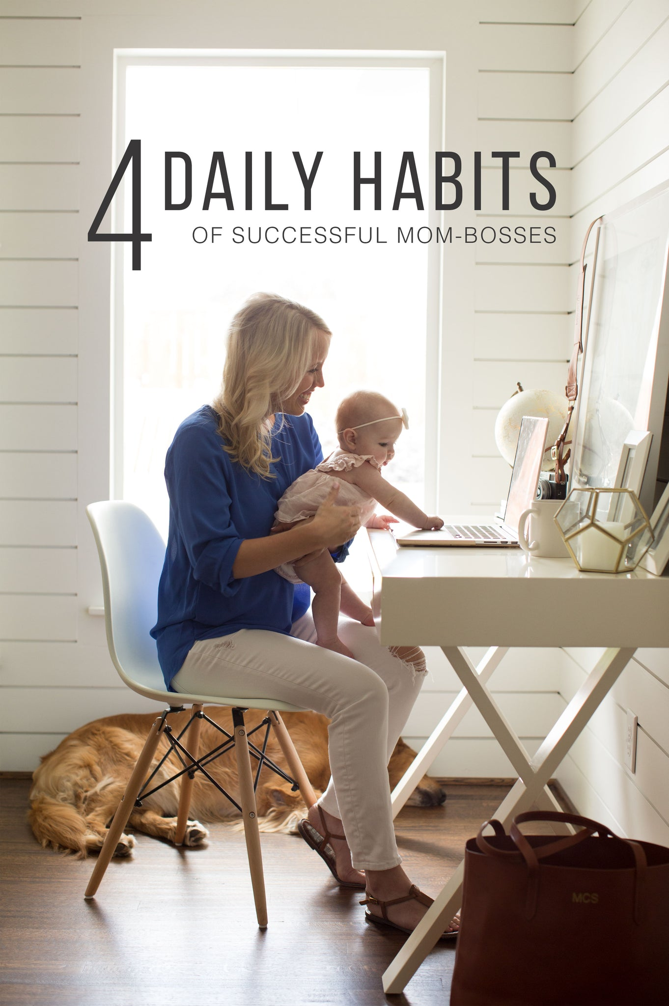 4 Daily Habits of Successful Mom-Bosses | FOTO Blog