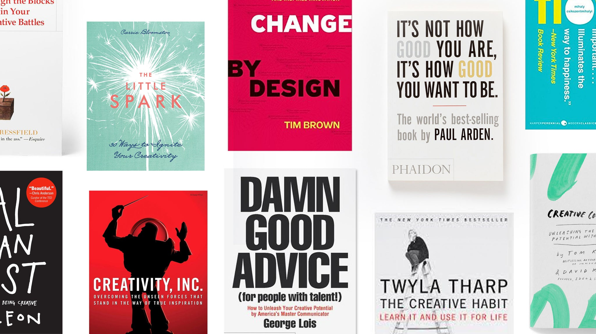 FOTO Blog | Our 10 Favorite Books for Inspiring Creatives + Excerpts