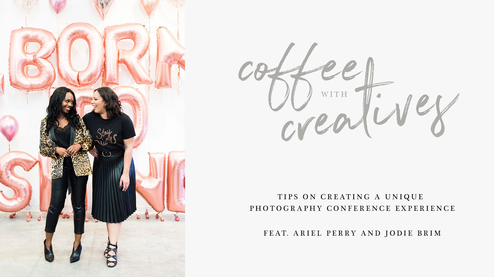 Coffee with Creatives: Tips on Creating a Unique Conference Experience