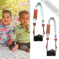 "The Camp & Asher Fotostraps are named after Camp & Asher Elder, from the Fotolanthropy story ""Gloriously Ruined"". You can visit www.Fotolanthropy.com to watch the Elder Family's, and more inspiring true stories of everyday heroes."