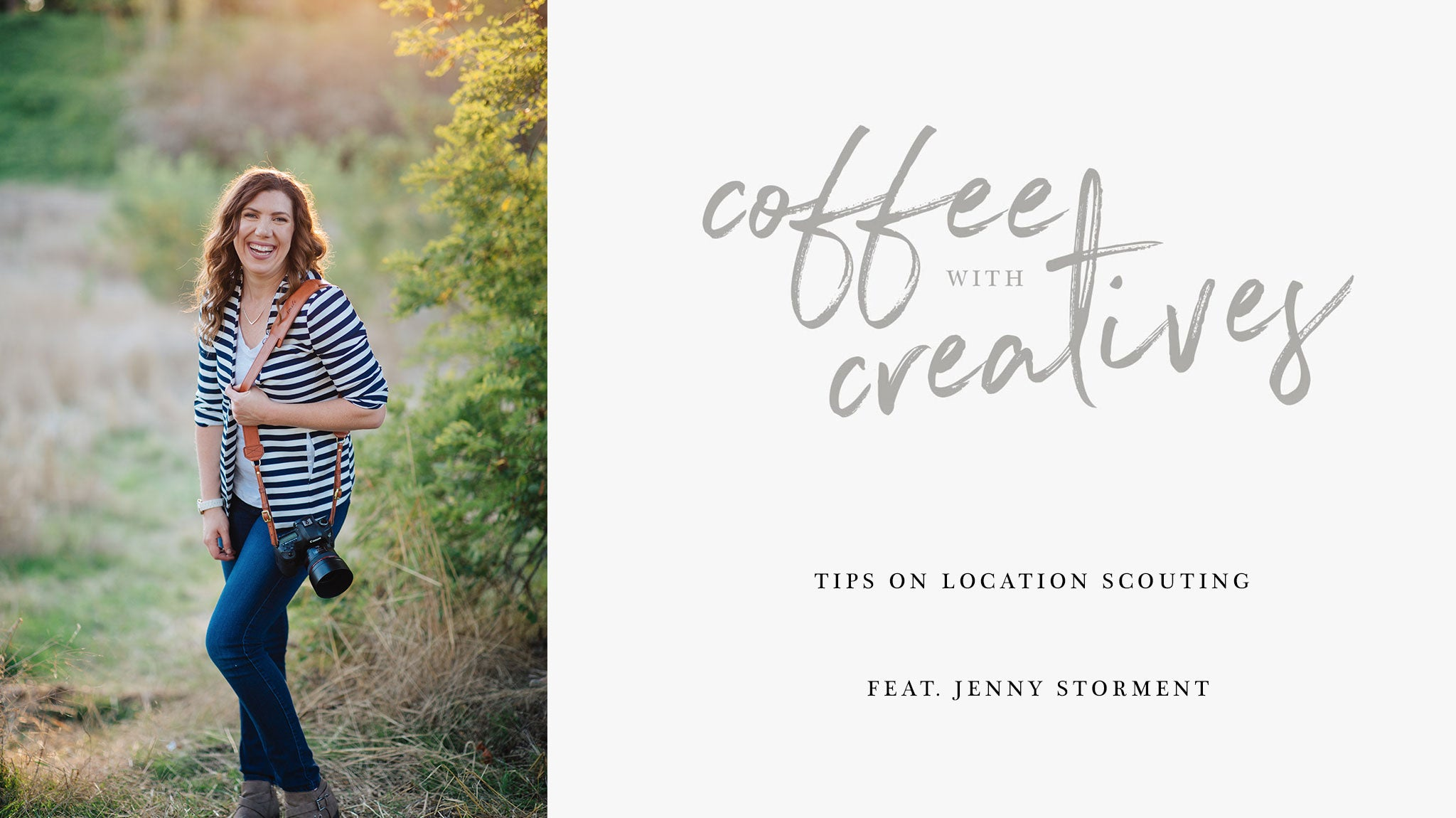 Professional PNW wedding and portrait photographer, Jenny Storment, shares insight on location scouting for her photography sessions.