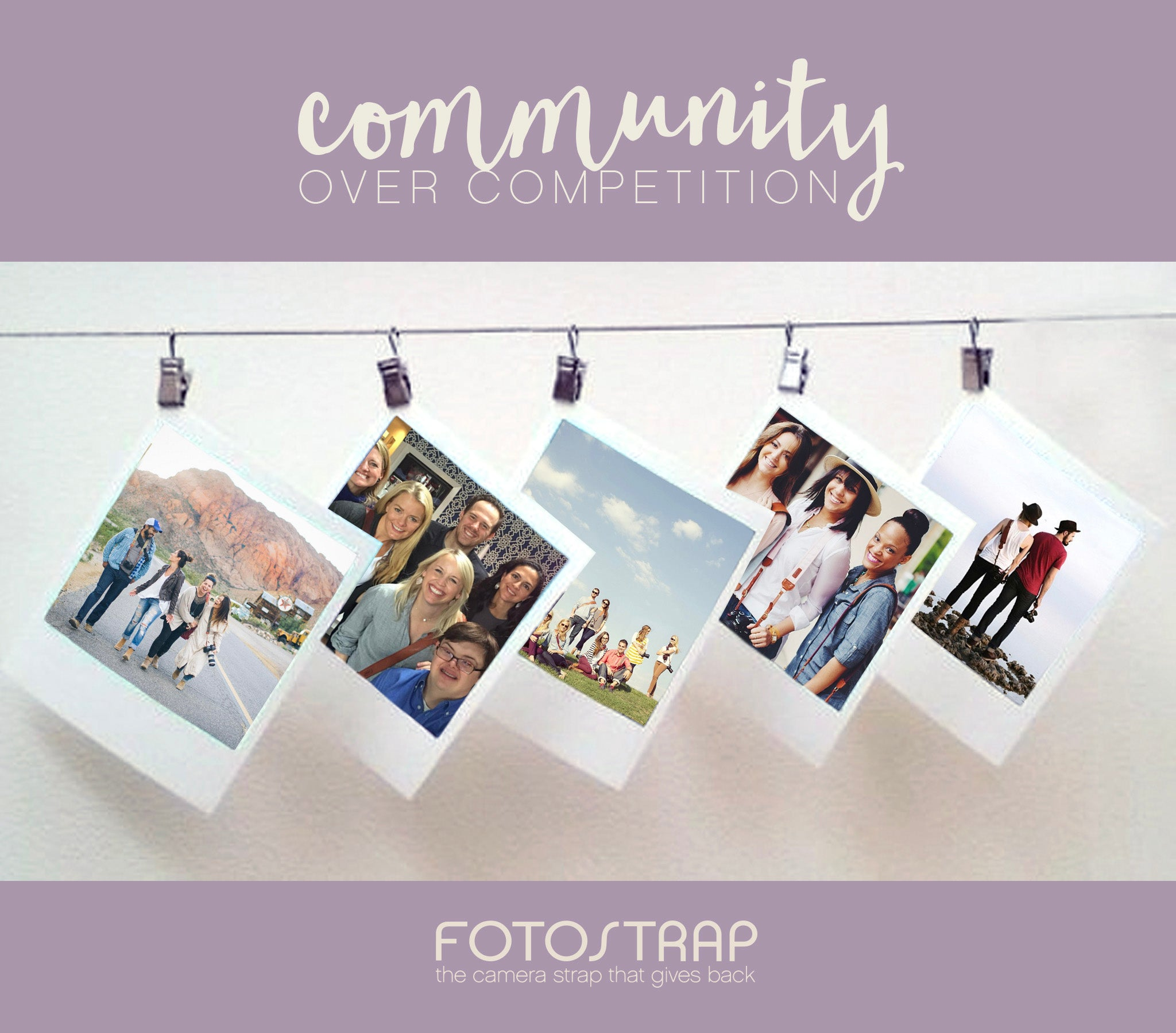 Community over Competition | FOTO Blog