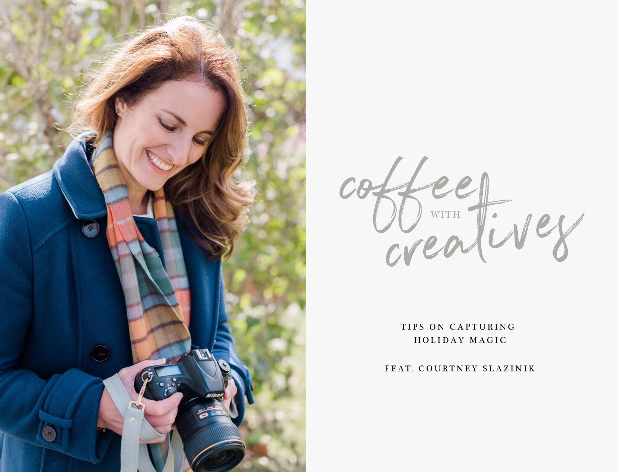 FOTO Blog: Capturing Holiday Magic with Courtney Slazinik