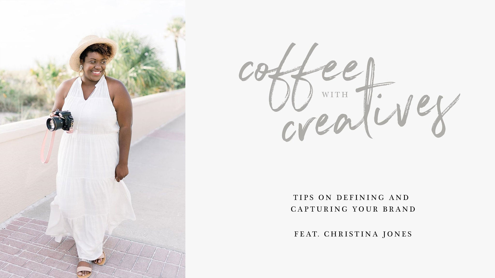Coffee with Creatives: Christina Jones