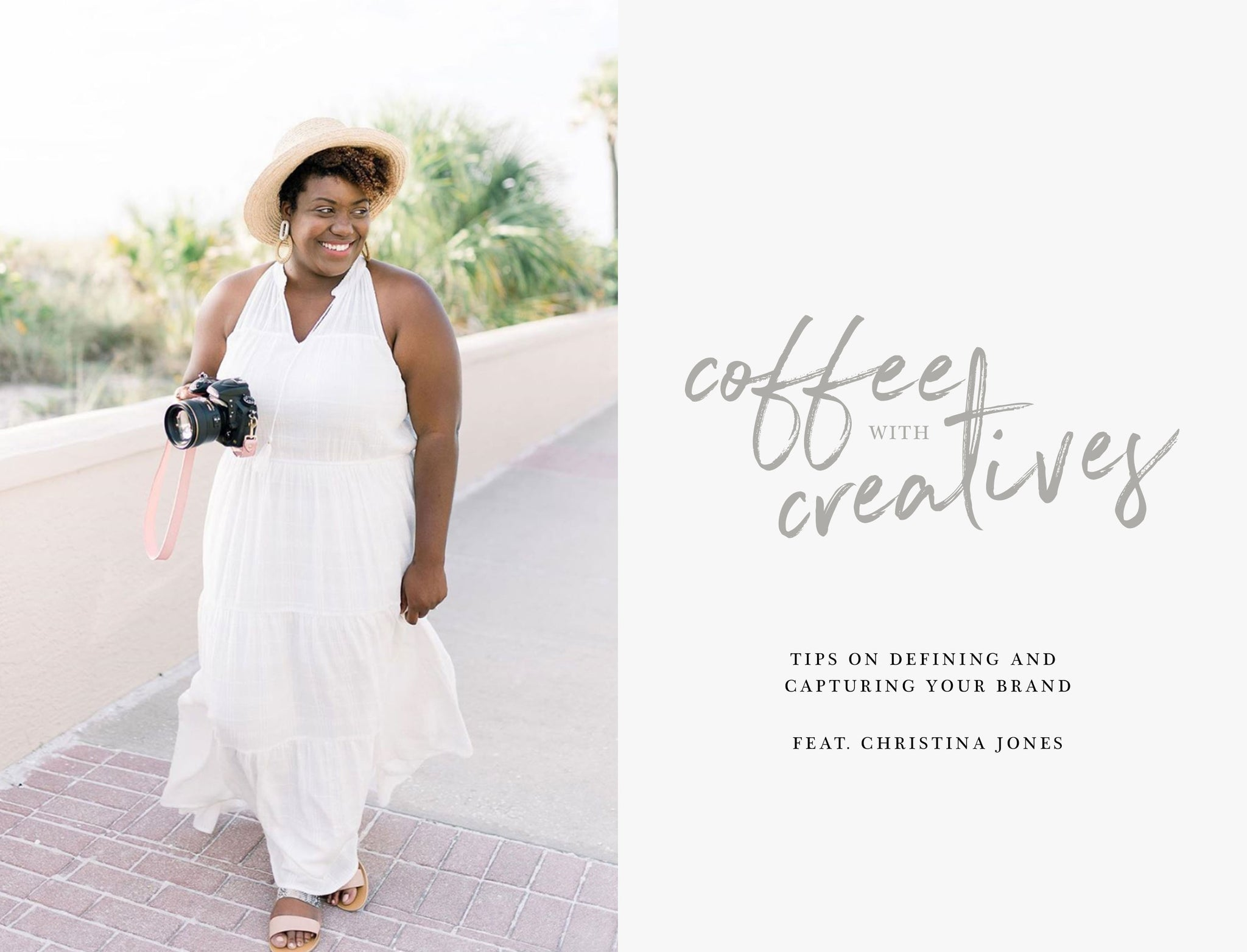 Coffee with Creatives: Christina Jones | Fotostrap Blog