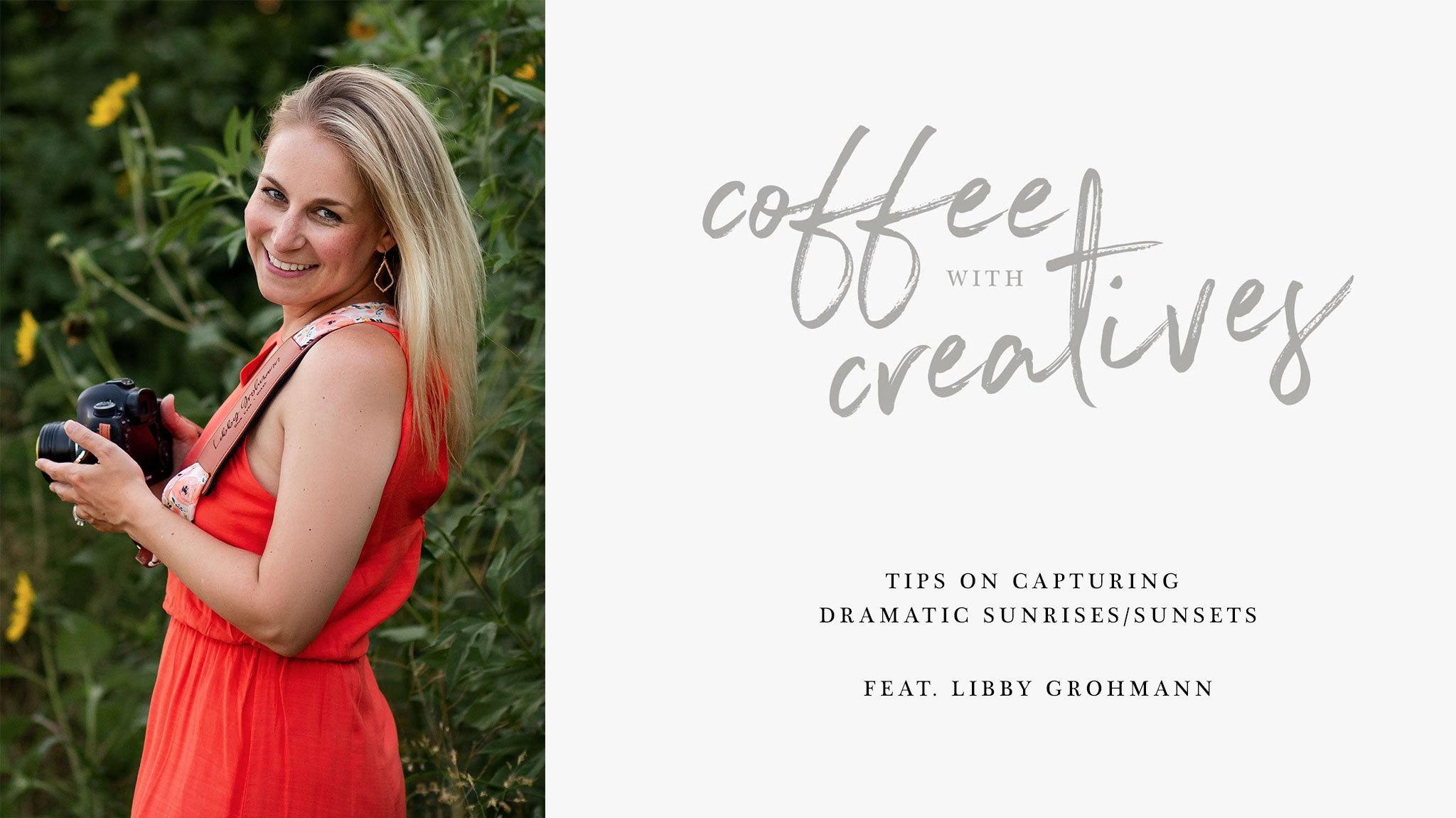 Coffee with Creatives: Tips on capturing dramatic skies with Libby Grohmann