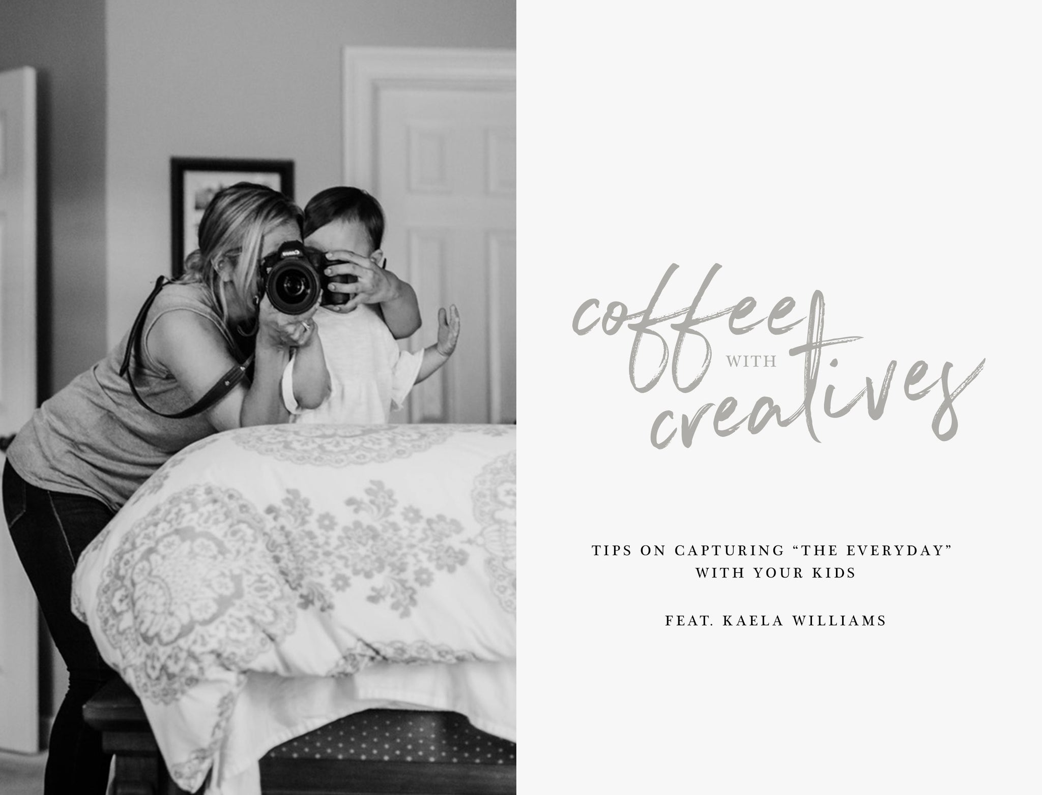 Coffee with Creatives: Kaela Williams | Fotostrap Blog