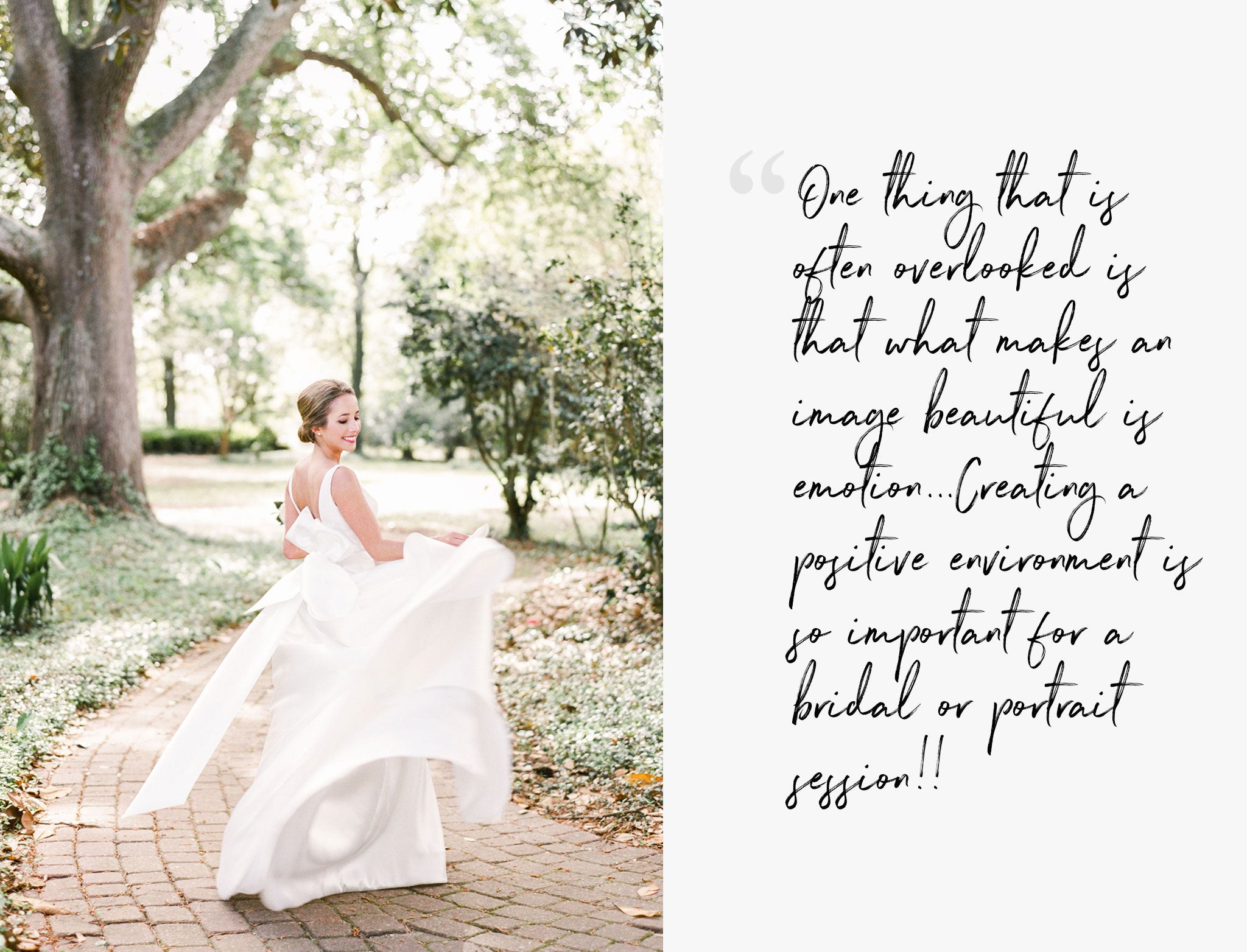 Coffee with Creatives: Catherine Guidry's 3 Secrets to Achieving a Unique Variety of Portraits for her Brides