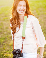 Kristen Duke reviews FOTO's genuine leather camera strap the Fotostrap.