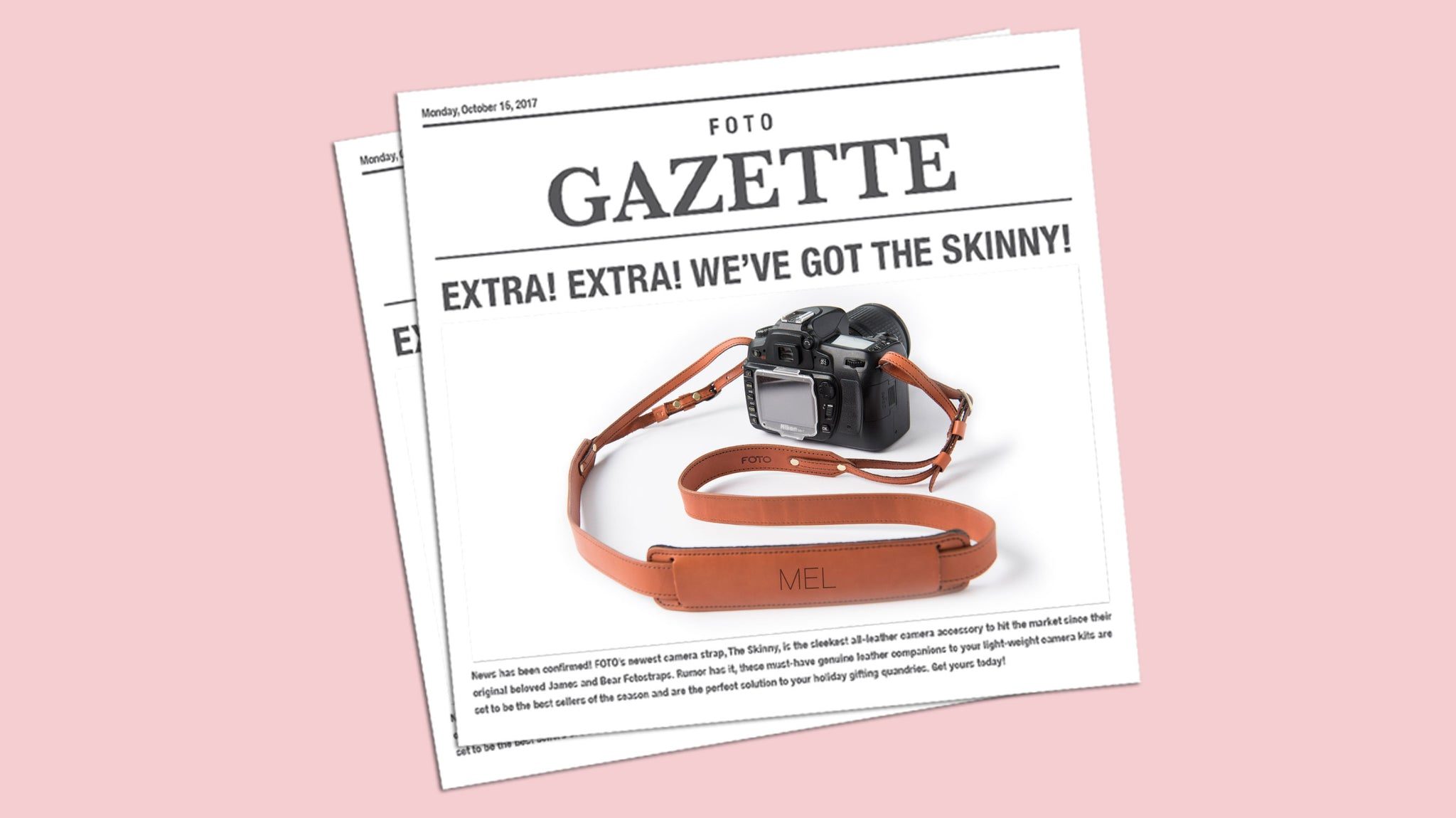FOTO Blog | The Skinny on our Newest Camera Strap
