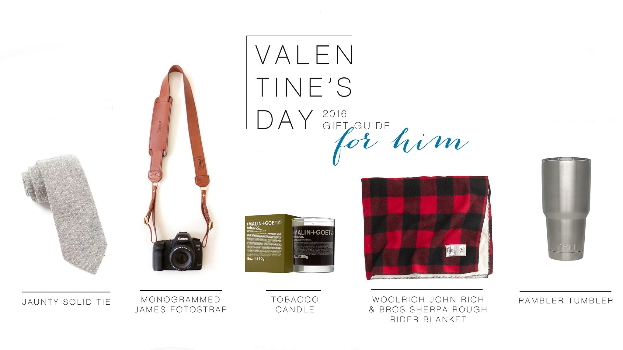 Valentine's Day Gift Guide: For Him | FOTO Blog