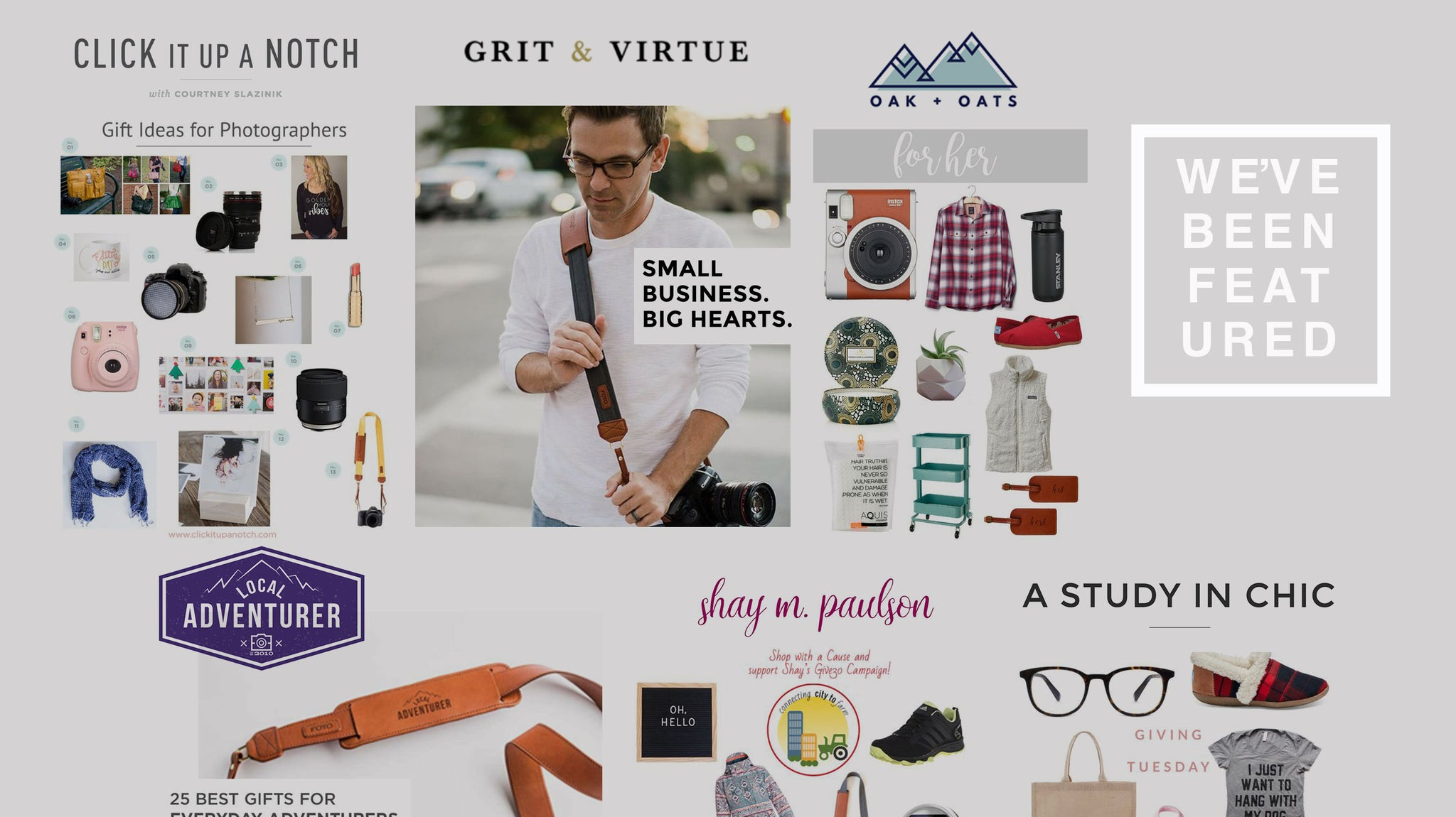 We've Been Featured! A Collection of Holiday Gift Guides