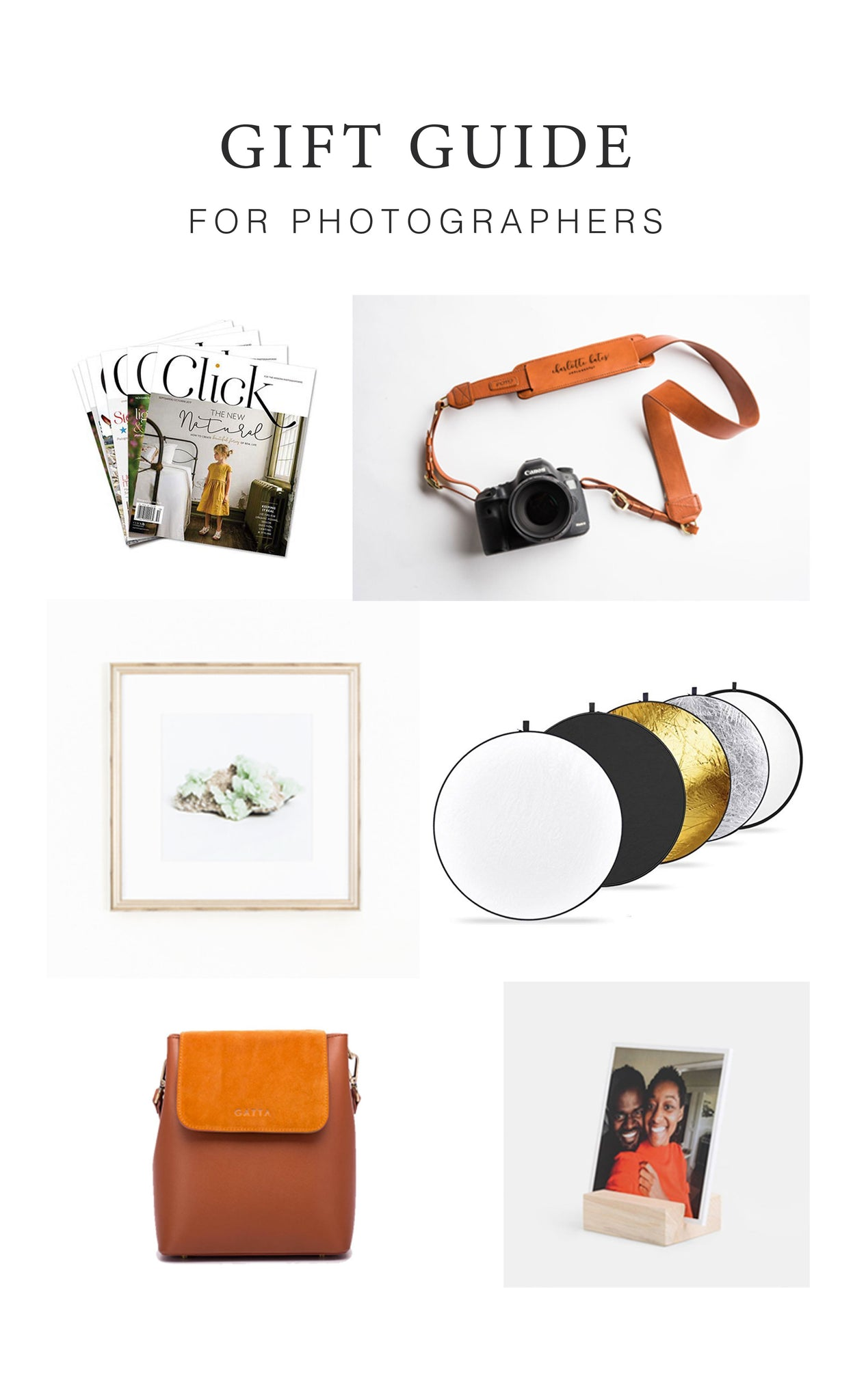 2018 Gift Guide for Photographers - Fotostrap Blog