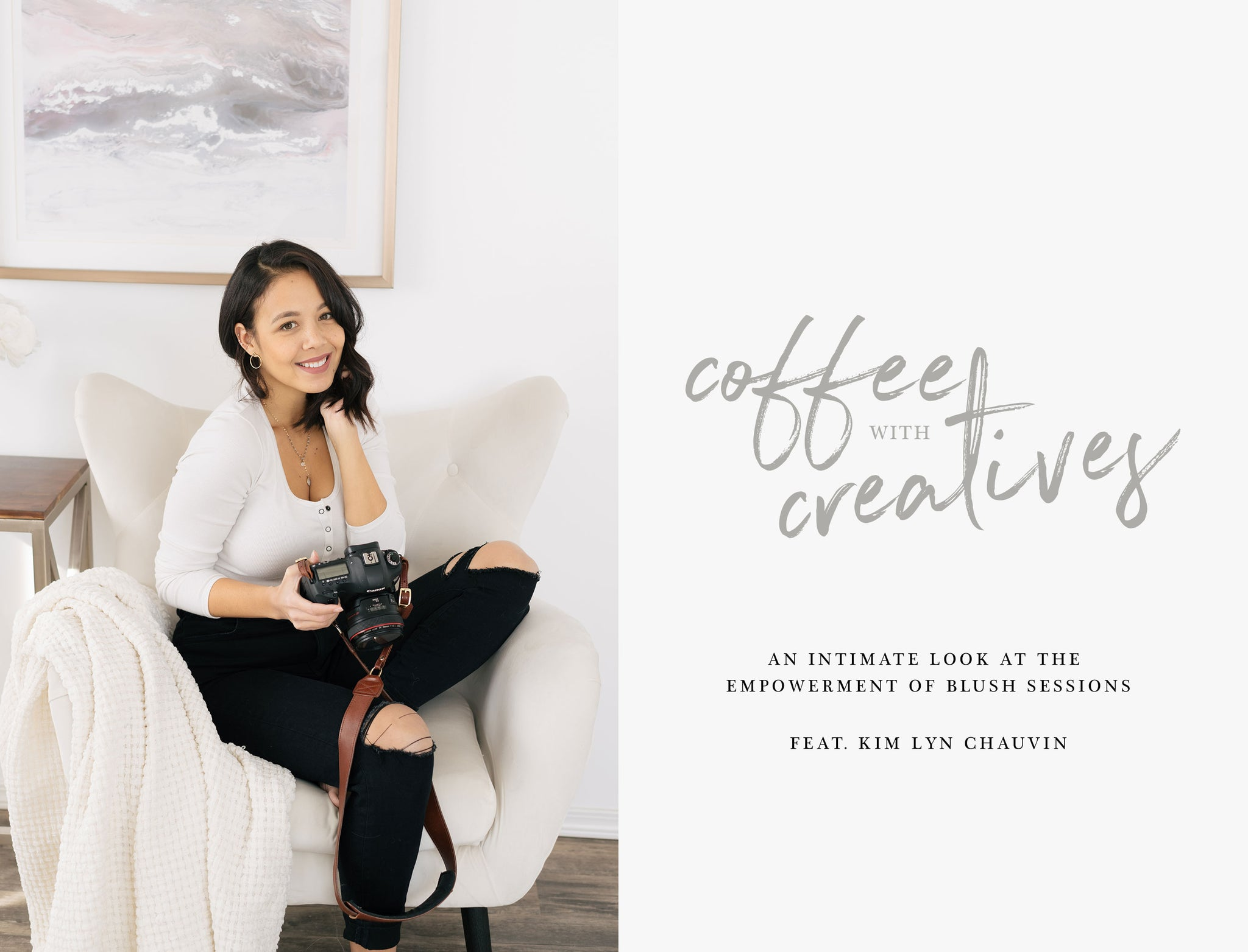 Fotostrap Blog: How to unleash your inner goddess with blush session expert with Kim Lyn Chauvin