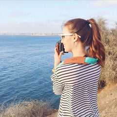 Personalized Seaside Fotostrap | a camera strap from FOTO