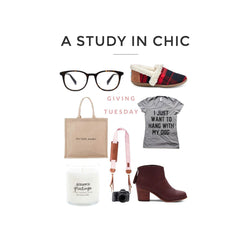 A Study in Chic Gift Guide - Giving Tuesday