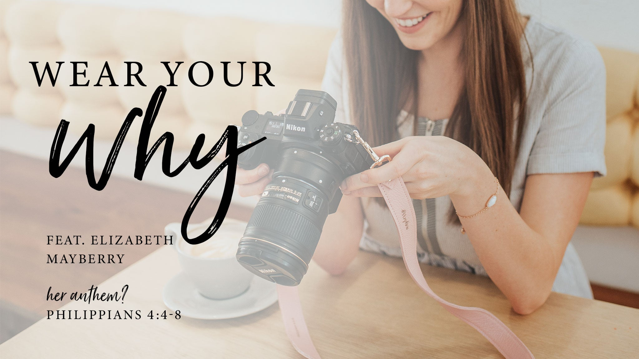 Wear Your Why: Elizabeth Mayberry | Fotostrap Blog