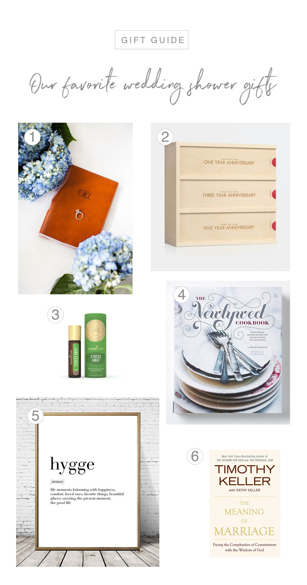 FOTO Blog | Our Favorite Wedding Shower Gifts Gift Guide!