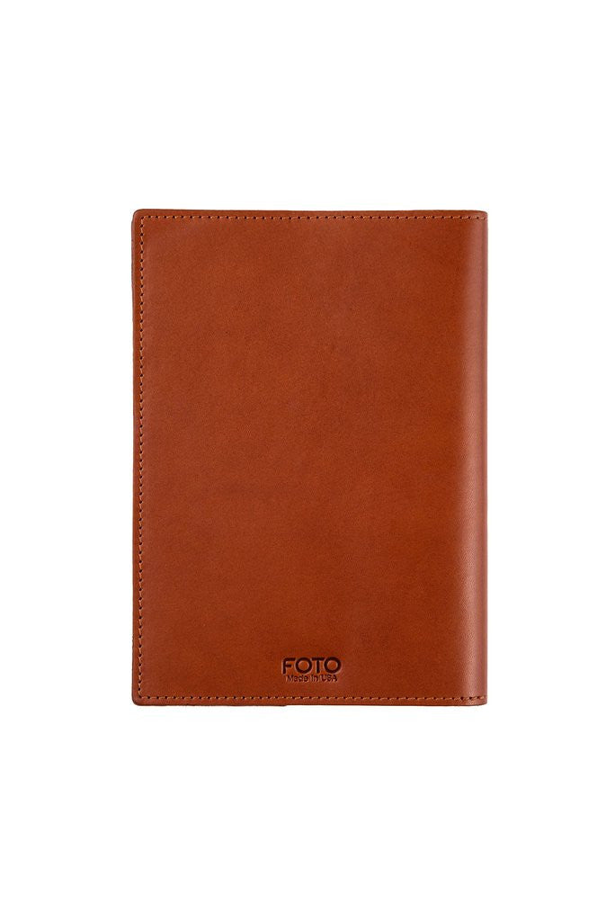 "FOTO | ""Goals"" Leather Journal - this refillable genuine leather journal cover is the perfect tool for documenting your business and personal goals."