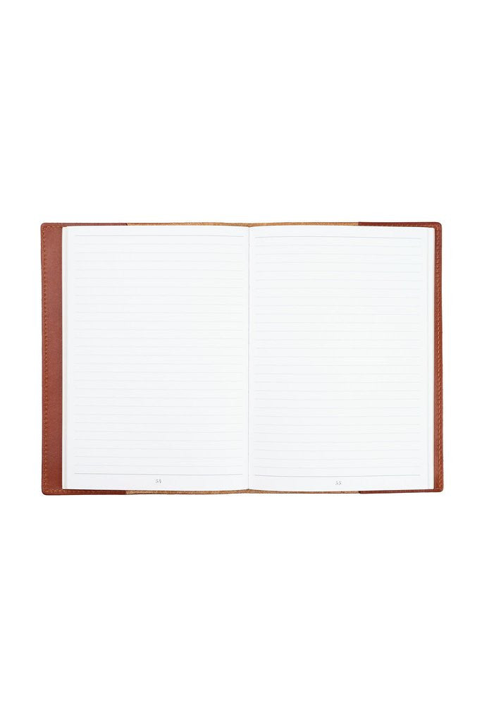 "FOTO | ""Immeasurably More"" Leather Journal - this genuine leather journal cover will remind you of all you are capable of each time you write in it."