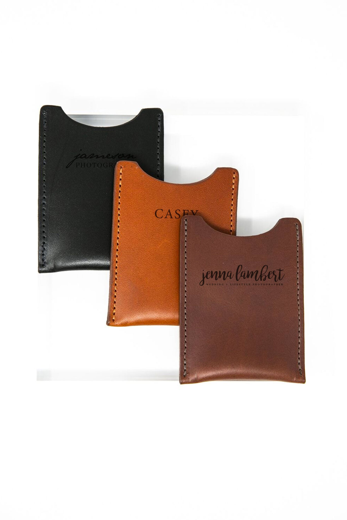 James Business Card Holder