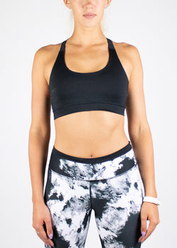 Laane Crop Top in Black