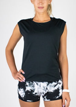 Made For Sports Top in Black