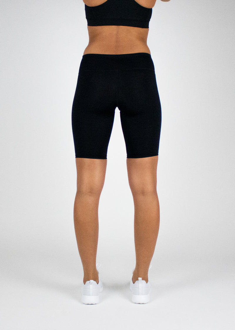 Rider Short in Black