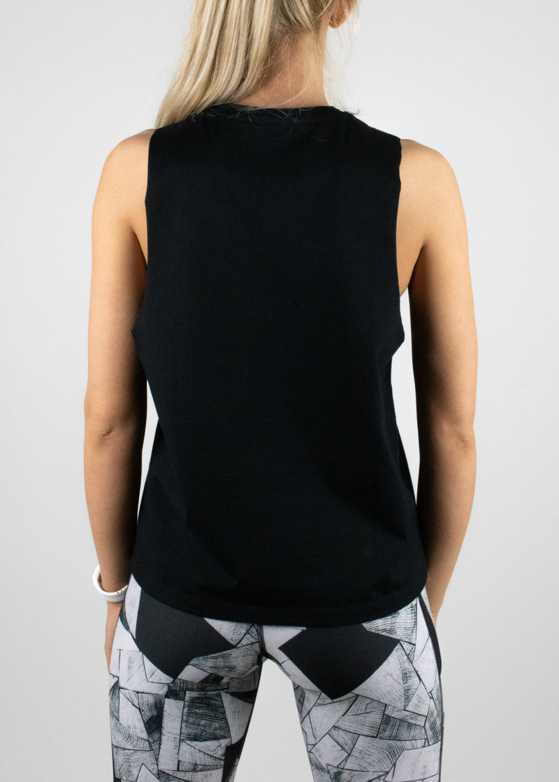 Original Logo tank in black from Susimust SS19 collection - back view