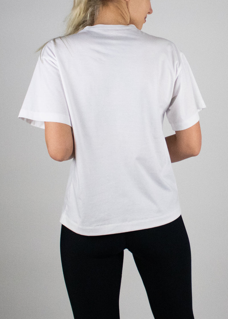 Throw on Anything Tee in White