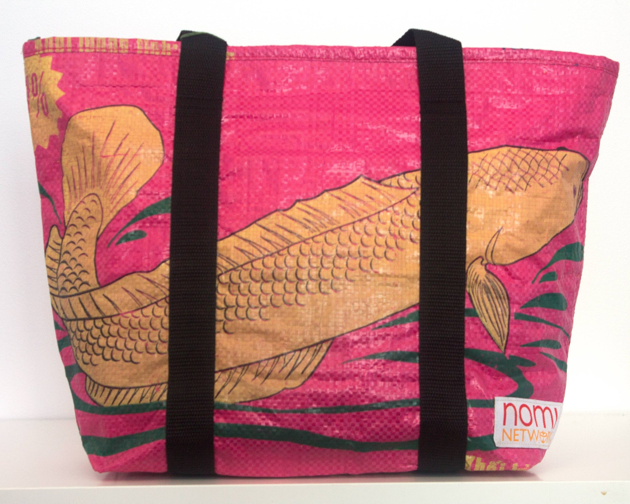Recycled rice bag purse - Everyday Medium Tote