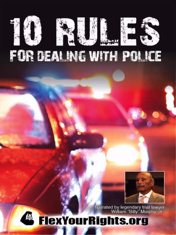 10 Rules DVD Cover (front)
