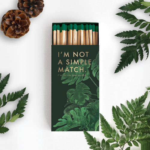 Monstera - Extra Long Safety Matches
