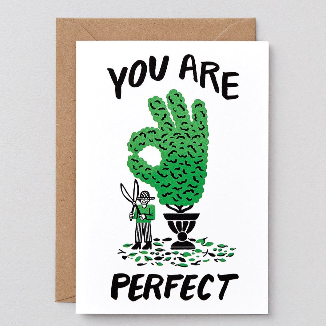 You Are Perfect Card