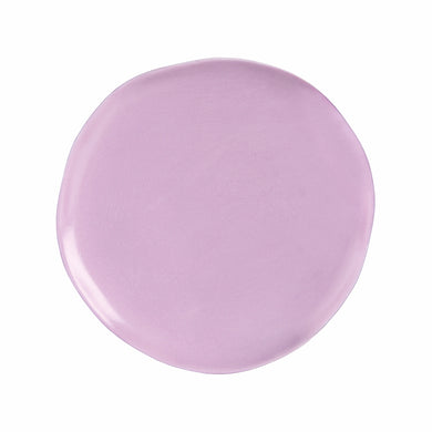 Irregular Shaped Plate - Lilac